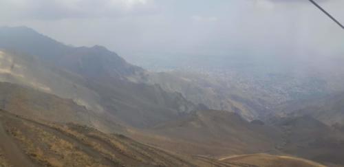 Au loin Téhéran
